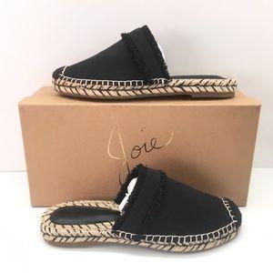 Joie Cain Mule Espadrille Flats Sandals New